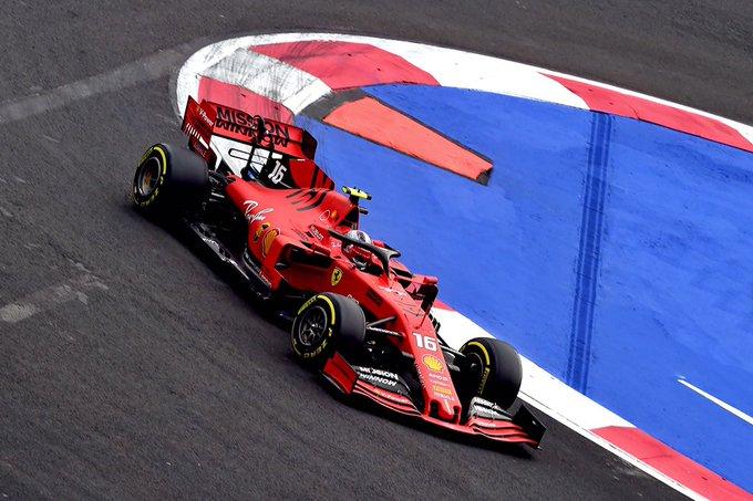 Monegasco comandou o 1-2 da Ferrari no Hermanos Rodriguez. Foto: Scuderia Ferrari