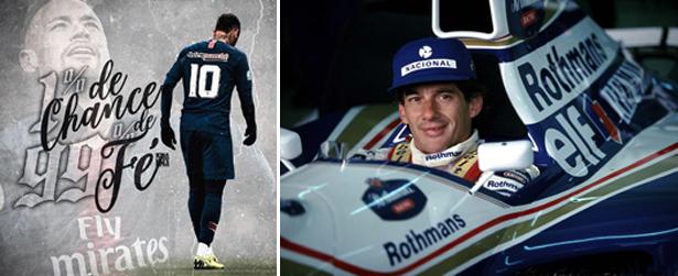 As escolhas do craque e do multicampeão por PSG e Williams, respectivamente