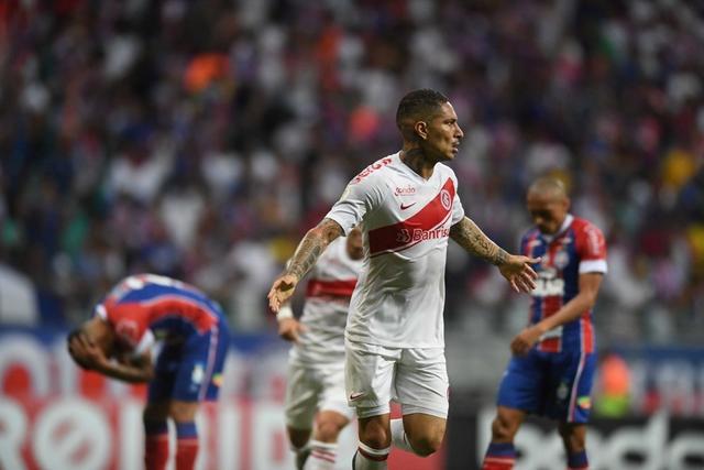 Peruano chegou aos 47 gols. Foto: Ricardo Duarte/S.C.Internacional