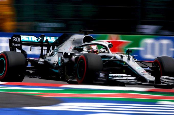 Inglês foi perfeito na estratégia. Foto: Mercedes/AMG F1
