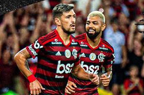 Equipe rubro-negra teve dificuldades no confronto diante do time alagoano. Foto: C.R. Flamengo