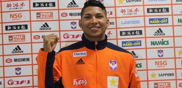 Rony pelo Niigata: Fifa o liberou para assinar com qualquer clube; Atlético apostará no jogador
