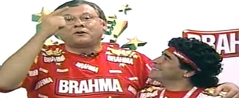 Craque argentino foi a estrela do Terceiro Tempo no Rio de Janeiro