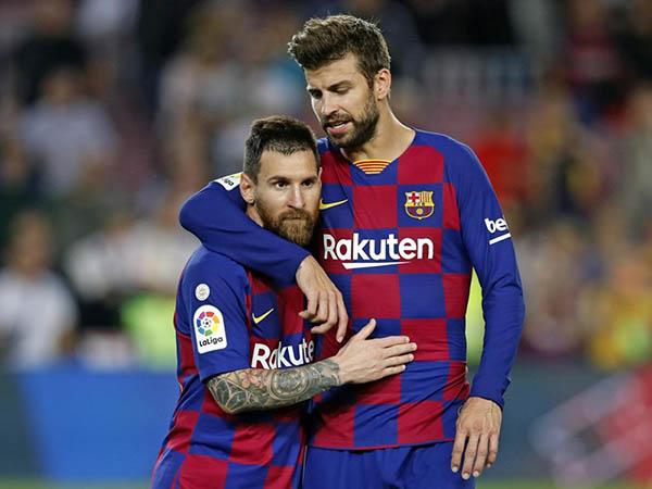 Um dos líderes do Barça, Piqué reforçou que o elenco esperava a volta de Neymar (Foto: Barcelona/Divulgação)