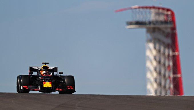 Holandês comandou o ensaio inaugural em Austin. Foto: Aston Martin Red Bull Racing