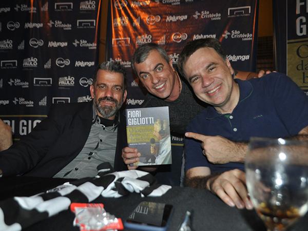 Paulo Rogério, Anderson Cheni e Mauro Beting. Foto: Marcos Júnior Micheletti/Portal TT