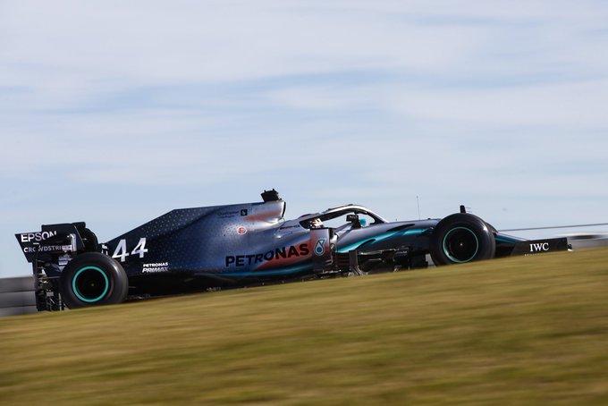 Britânico impôs boa margem para os rivais na preparação para o GP dos Estados Unidos. Foto: Mercedes-AMG F1