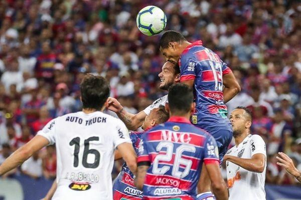 Donos da casa ficaram em vantagem duas vezes, mas cederam o empate (Foto: Foto: Bruno Cantini / Atlético)