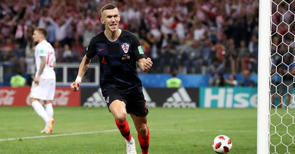 Perisic marcou o primeiro gol da vitória croata. Foto: Getty Images/FIFA