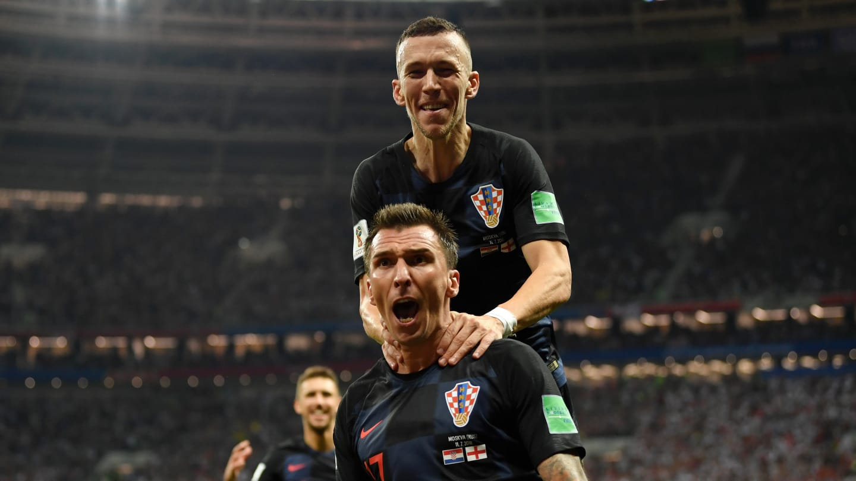 Na prorrogação a Croácia consegue chegar em sua primeira final. Foto: FIFA/Getty Imagens