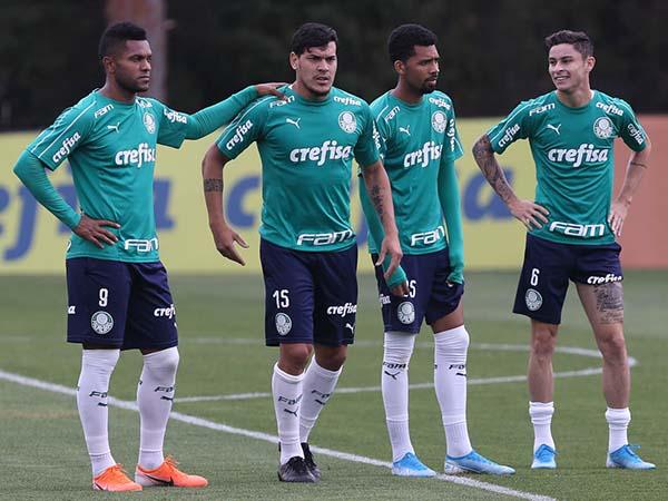 Agente de Borja rebateu declarações do técnico palmeirense. Foto: Cesar Greco/Ag Palmeiras/Divulgação