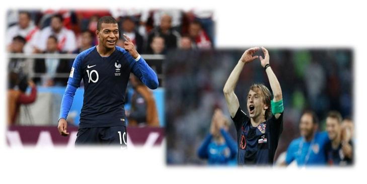 Seleção francesa carrega o favoritismo na decisão da Copa do Mundo, diante da aguerrida seleção croata. Quem ficará com a taça?