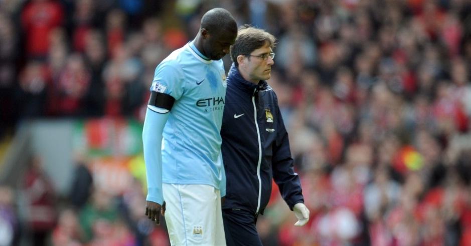 Titular em 31 das 32 partidas do Manchester City na competição, Touré anotou 18 gols