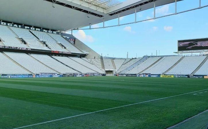 Direção alvinegra deve alongar o pagamento do estádio. Foto: Facebook/Divulgação