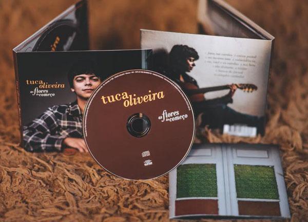Músico mineiro lançou primeiro CD. Foto: Reprodução/Facebook