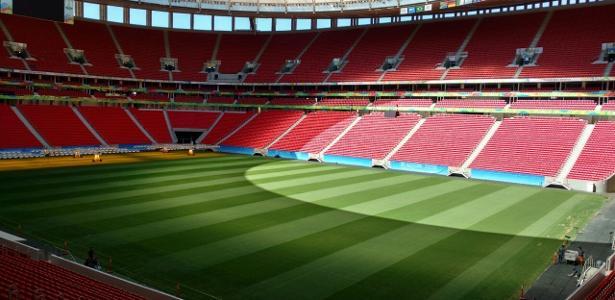 Estádio Mané Garrincha será o palco do jogo entre Vasco e Corinthians. Foto: Comitê Rio-2016