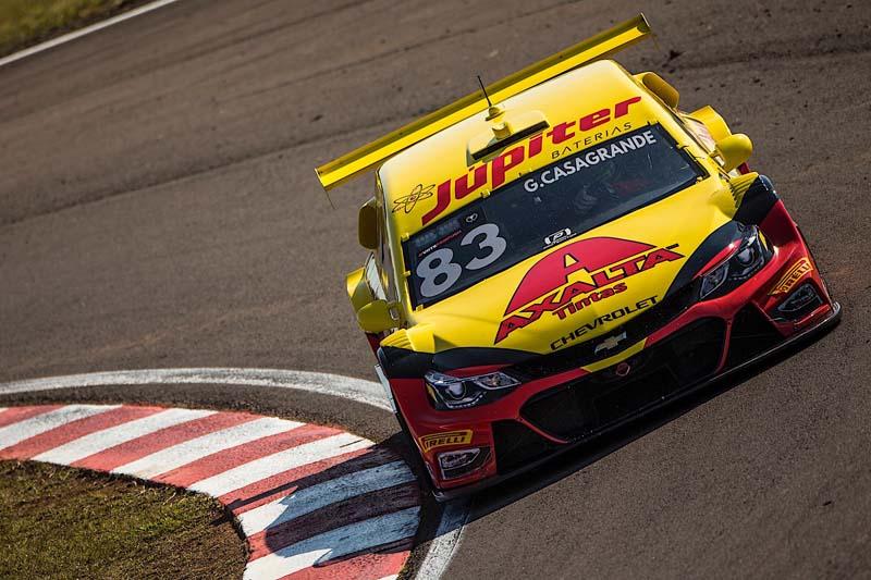 Piloto paranaense andou forte antes da classificação. Foto: Bruno Terena/RF1