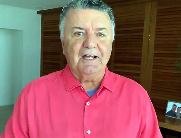 Esta, no entanto, não foi a primeira vez em que Arnaldo atacou o VAR. Foto: Reprodução