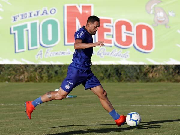 Gilberto foi muito criticado pela torcida do Bahia. Felipe Oliveira / EC Bahia