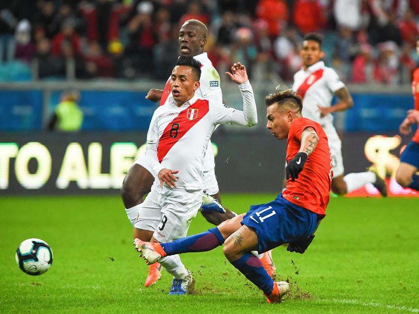 Seleção chilena enfrentaria o Peru dia 19 em Lima. Foto: Divulgação