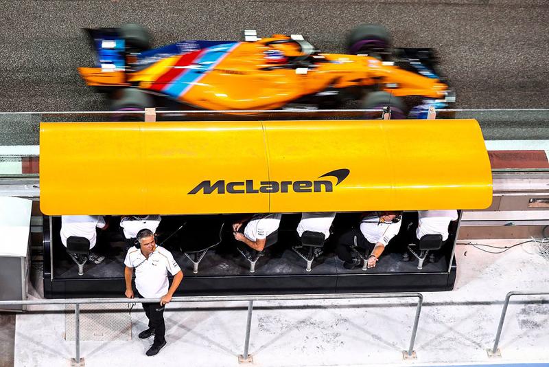 """Um 'canhão"""" pode fazer a equipe repensar sua dupla de pilotos. Foto: McLarenF1"""