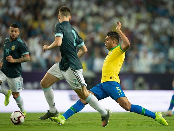 Com gol de Messi, argentinos bateram a seleção brasileira de Tite. Foto: Lucas Figueiredo/CBF