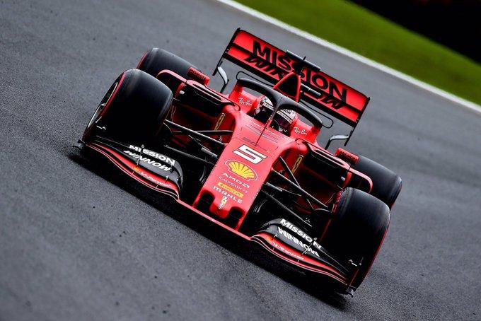 Alemão superou o companheiro de equipe e comandou a dobradinha do time escarlate. Foto: Scuderia Ferrari