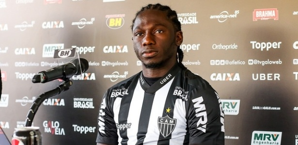 Yimmy Chará foi a principal contratação do Atlético-MG para o segundo semestre
