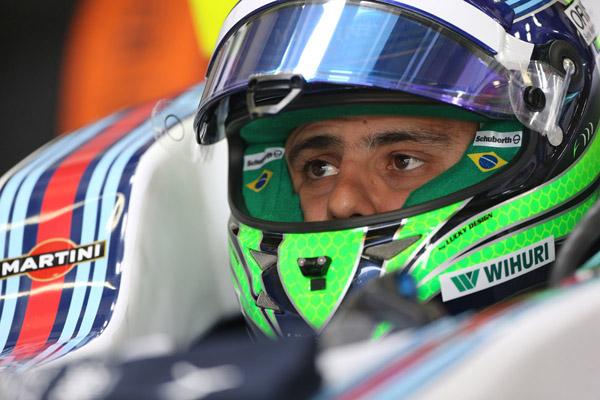 Felipe Massa fez uma boa prova em 2014, então como piloto da Williams. Foto: Beto Issa/GP Brasil/Divulgação