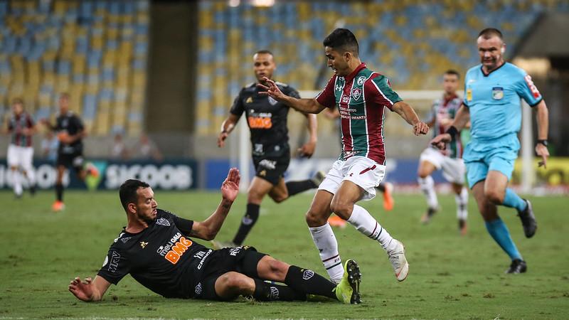 Empate não afasta o tricolor da zona da degola. Foto: Lucas Merçon/Fluminense FC