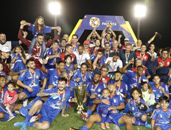 Associação Desportiva São Caetano conquista o título da Copa Paulista 2019. Por Edvaldo Tietz - Notícias - Terceiro Tempo