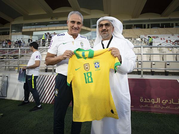 Treinador da seleção disse não estar feliz com a fase do Brasil em campo. Foto: Lucas Figueiredo/CBF