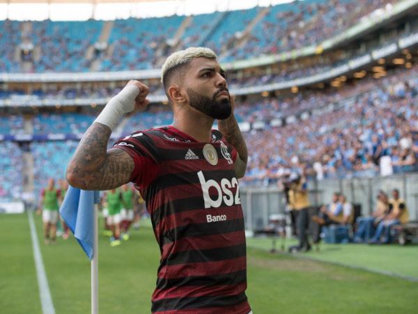 Artilheiro do Brasileirão, Gabigol ainda tem futuro incerto no Fla. Foto: Alexandre Vidal / Flamengo