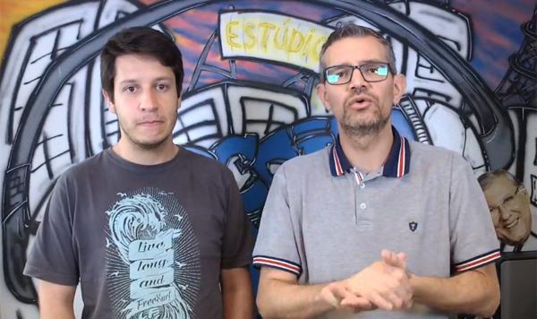 Lucas Reis e Frank Fortes projetaram a seleção para as Eliminatórias do Mundial de 2022. Foto: Reprodução