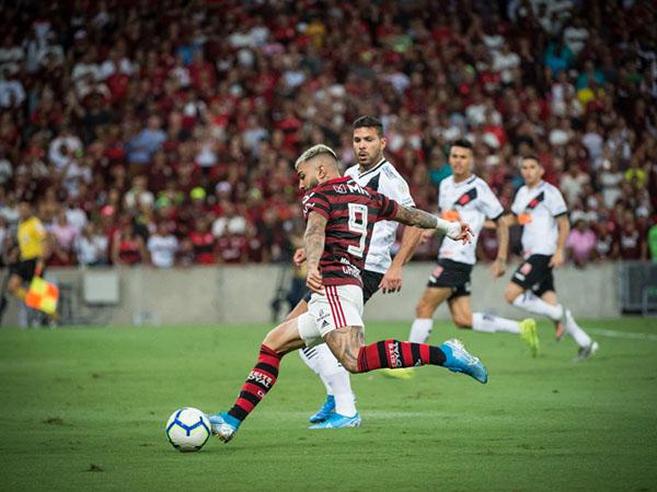 Artilheiro do Brasileiro, Gabigol vive o melhor ano de sua carreira. Foto: Alexandre Vidal, Marcelo Cortes e Paula Reis / Flamengo