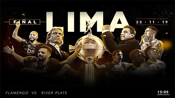 Brasileiros e argentinos fazem a final da Libertadores em Lima, no Peru. Foto: Divulgação