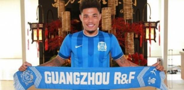 Último clube de Junior Urso foi o Guangzhou R&F, da China. Foto: Divulgação/Via UOL