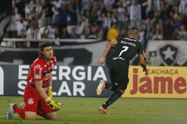 Equipes se enfrentaram no Rio de Janeiro. Foto: Twitter do Botafogo