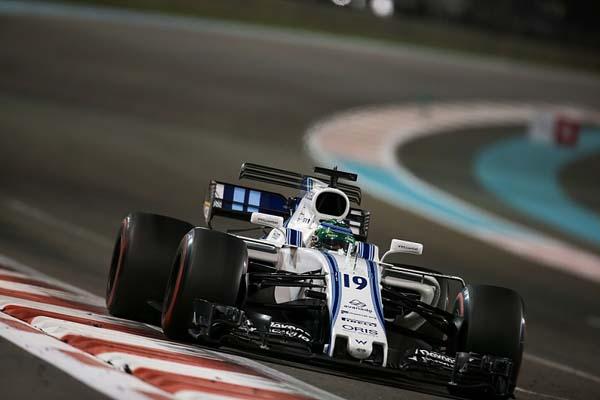 Brasileiro, então na Williams, disputou o GP de Abu Dhabi. Foto: Williams Racing