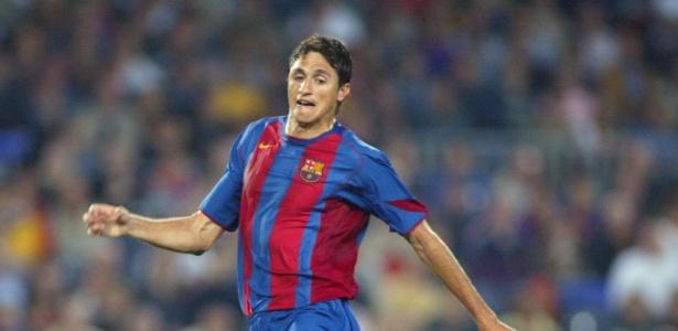 Edmílson defendeu as cores do Barcelona entre 2004 e 2008