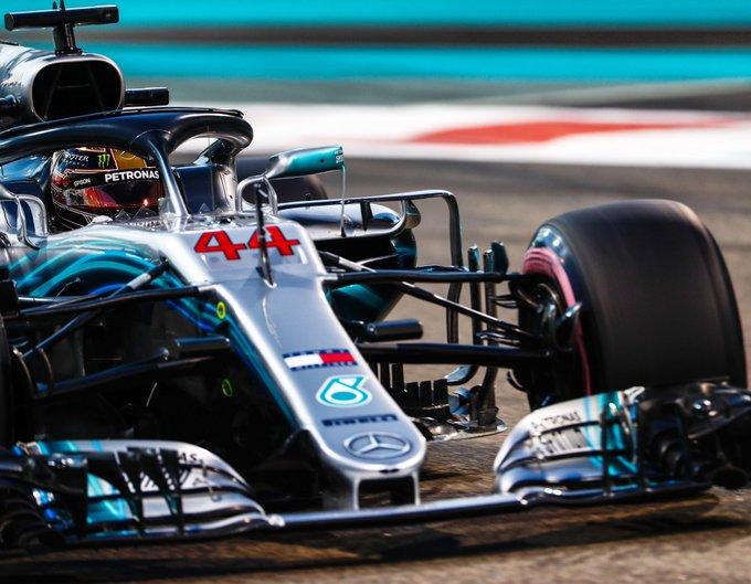 Inglês chegou à 88ª pole desde que estreou na categoria. Foto: Mercedes-AMG F1