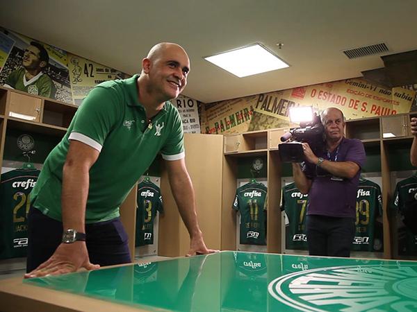 Ex-goleiro do Verdão ironizou o Mengão e também o Corinthians. Foto: Cesar Grecco/Ag Palmeiras/Divulgação
