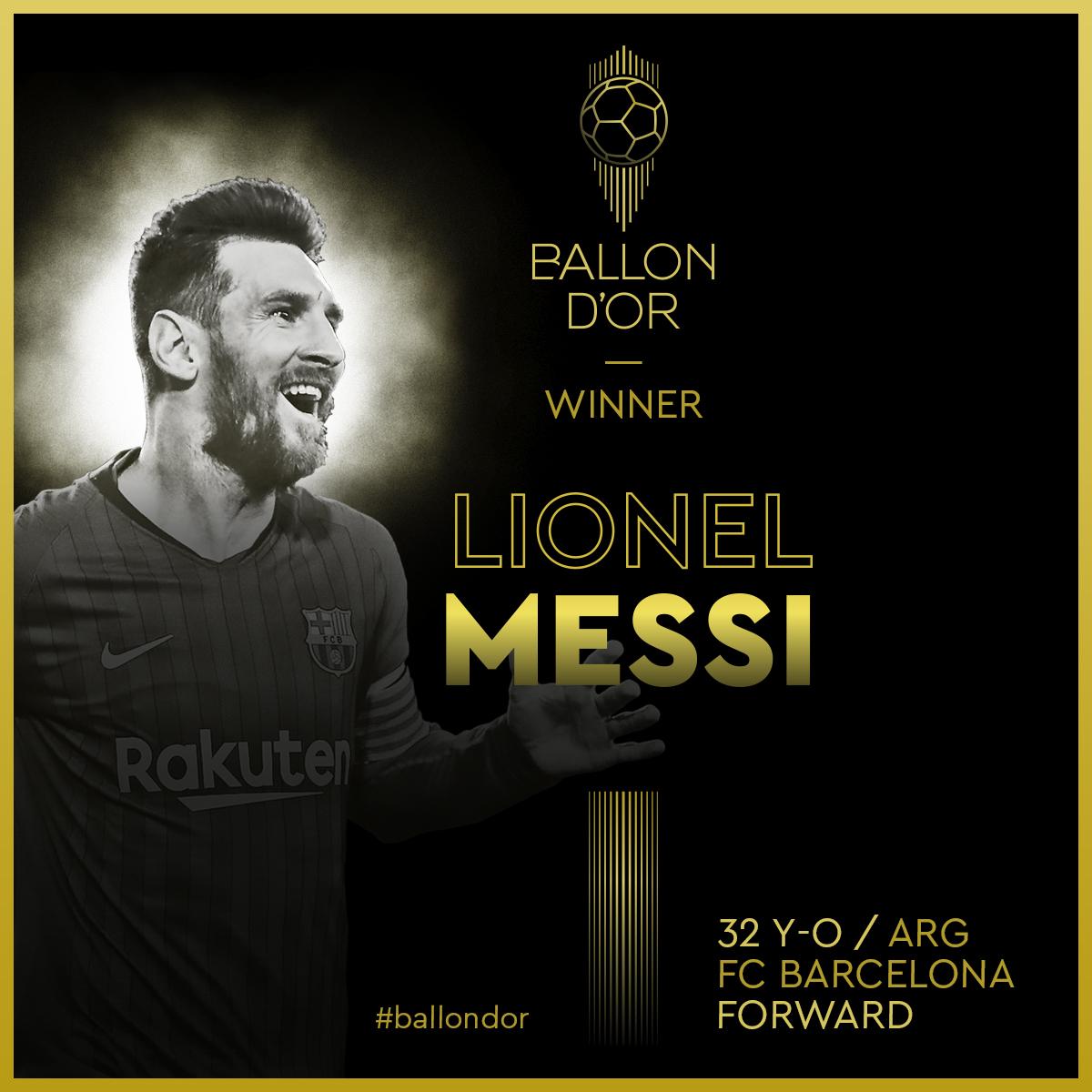 Camisa 10 do Barcelona é o maior vencedor da premiação da revista France Football. Foto: Divulgação