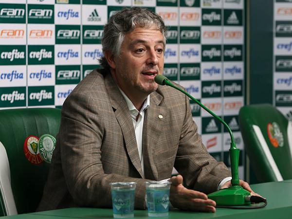 Ex-presidente do Verdão se mostrou triste com os rumos do clube. Foto: Cesar Grecco/Ag.Palmeiras/Divulgação