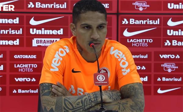 Atacante do Inter diz que seu foco é na reta final do Campeonato Brasileiro. Foto: Reprodução/TV Inter