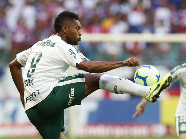 Em 2019, camisa 9 do Verdão marcou apenas seis vezes. Foto: Cesar Greco/Ag Palmeiras/Divulgação