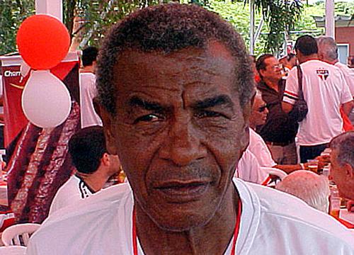 Com a camisa são-paulina, entre os anos de 1956 e 1959, Maneca realizou 79 partidas