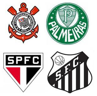 Os quatro grandes paulistas estarão juntos na Libertadores pela primeira vez. Imagem: Reprodução