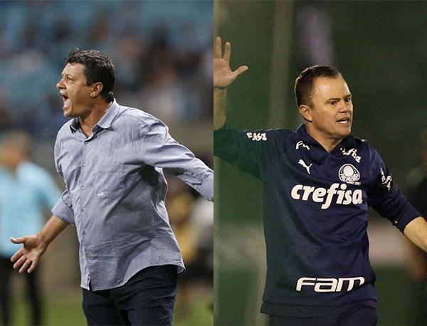 Fotos: Divulgação/Cruzeiro e Cesar Greco/Palmeiras