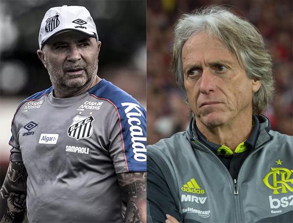 Foto: Ivan Storti/Santos e Alexandre Vidal/Flamengo